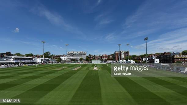 General view during Day 2 of the Specsavers County Championship Division Two match between Sussex and Worcestershire at The 1st Central County Ground...