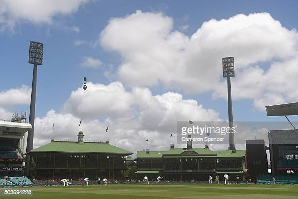 A general view during day five of the third Test match between Australia and the West Indies at Sydney Cricket Ground on January 7 2016 in Sydney...