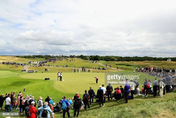 A general view during day four of the HNA Open de France at Le Golf National on July 2 2017 in Paris France