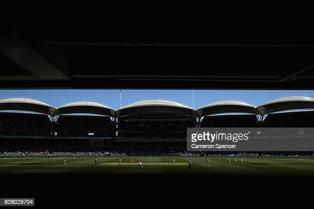 A general view during day four of the Third Test match between Australia and South Africa at Adelaide Oval on November 27 2016 in Adelaide Australia