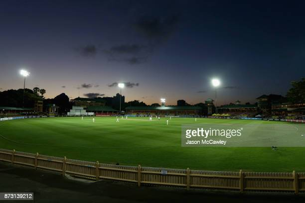 General view during day four of the Women's Test match between Australia and England at North Sydney Oval on November 12, 2017 in Sydney, Australia.