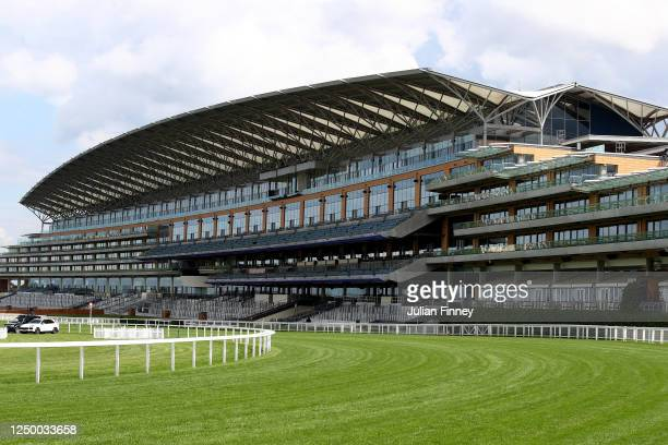 General view during Day One of Royal Ascot at Ascot Racecourse on June 16, 2020 in Ascot, England.