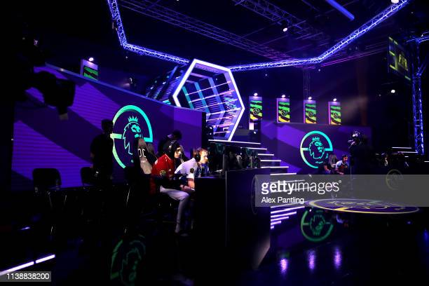 A general view during day one of the 2019 ePremier League Finals at Gfinity Arena on March 28 2019 in London England