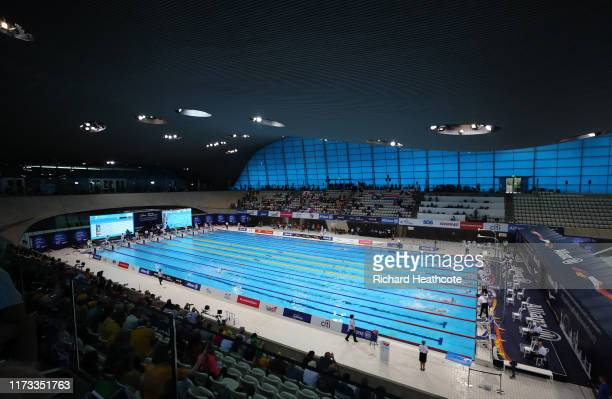 General view during Day One of the London 2019 World Para-swimming Allianz Championships at Aquatics Centre on September 09, 2019 in London, England.