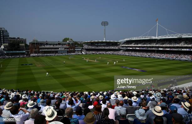 A general view during day three of the 1st Test match between England and Pakistan at Lord's Cricket Ground on May 26 2018 in London England