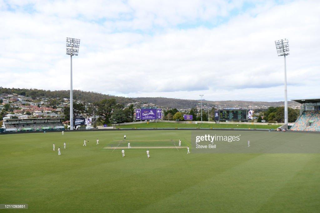 Sheffield Shield - TAS v NSW : Day 3 : News Photo