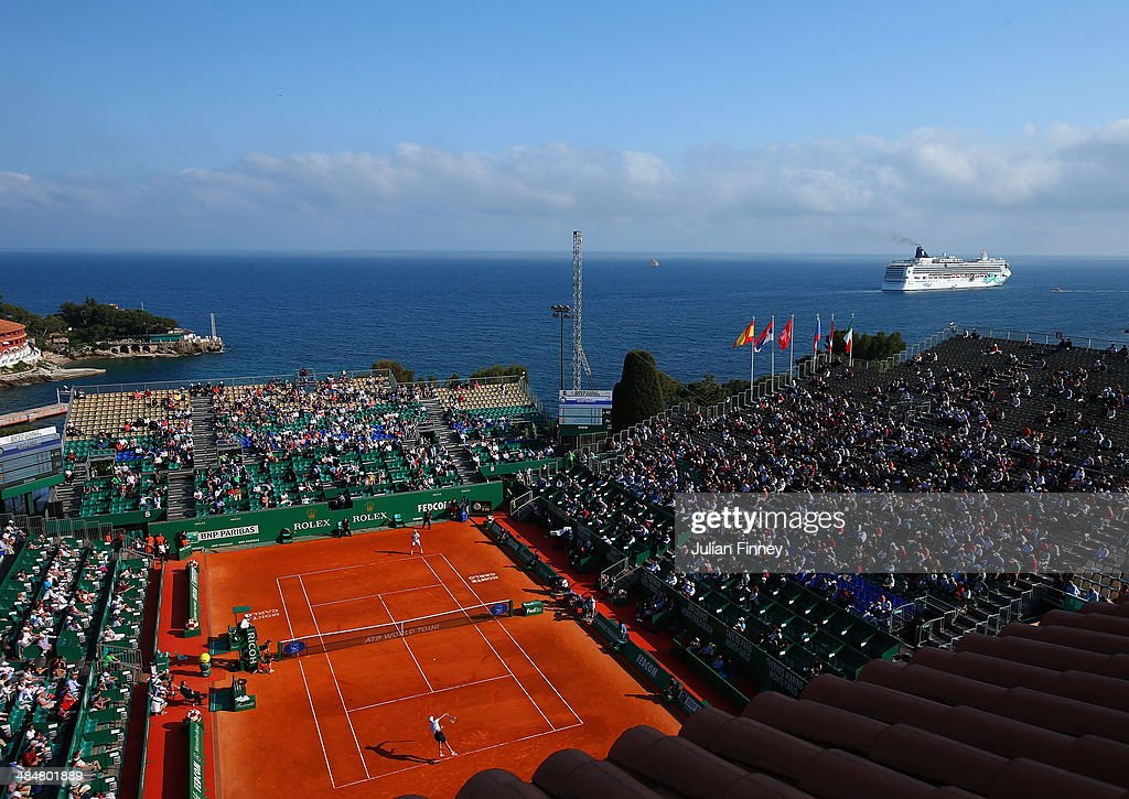 A general view during day two of the ATP Monte Carlo Rolex Masters Tennis at Monte-Carlo Sporting Club on April 14, 2014 in Monte-Carlo, Monaco.