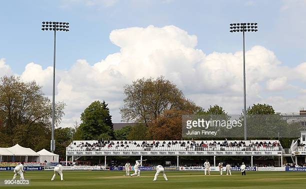 A general view during day two of the LV= County Championship match between Essex and Kent at the County ground on May 12 2010 in Chelmsford England