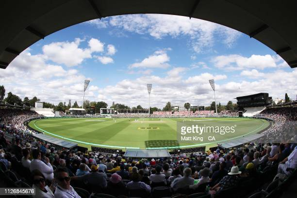 General view during day two of the Second Test match between Australia and Sri Lanka at Manuka Oval on February 02, 2019 in Canberra, Australia.