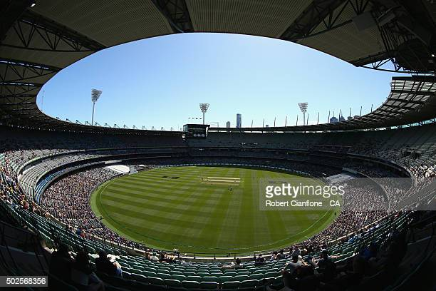 A general view during day two of the Second Test match between Australia and the West Indies at the Melbourne Cricket Ground on December 27 2015 in...