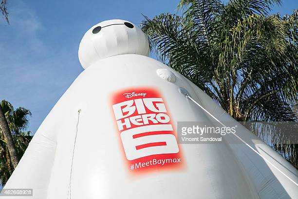 General view during Disney's Big Hero 6 photo call with baymax on February 2 2015 in Beverly Hills California