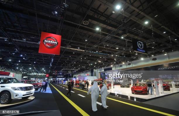A general view during Dubai Motor Show at Dubai World Trade Centre on November 15 2017 in Dubai United Arab Emirates