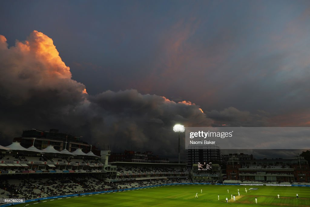 General view during England v West Indies - 3rd Investec Test: Day Two at Lord's Cricket Ground on September 8, 2017 in London, England.