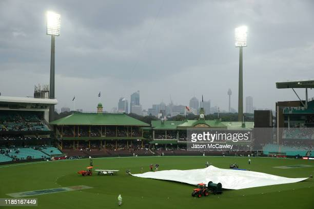 A general view during game one of the International Twenty20 series between Australia and Pakistan at Sydney Cricket Ground on November 03 2019 in...