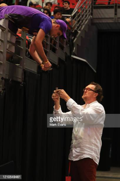 General view during game three of the NBL Semi Final Series between the Sydney Kings and Melbourne United at Qudos Bank Arena on March 05, 2020 in...