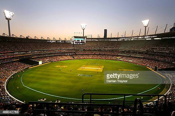 A general view during game two of the International Twenty20 series between Australia and England at the Melbourne Cricket Ground on January 31 2014...