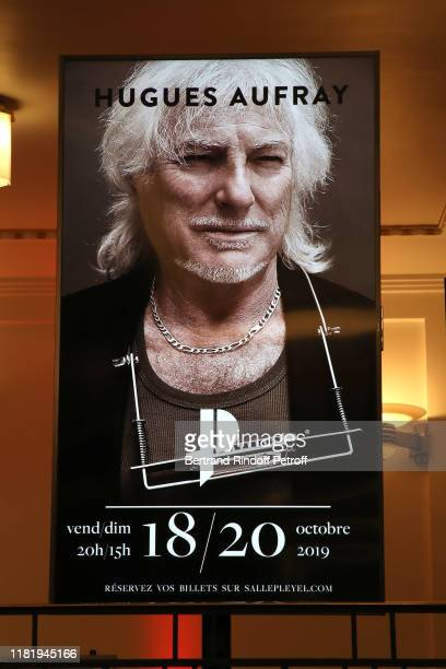General view during Hugues Aufray performs at Salle Pleyel on October 18 2019 in Paris France