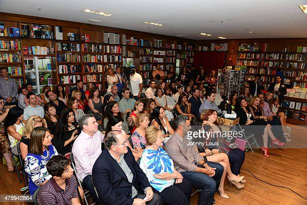 General View during Laura Posada book signing 'La dieta mental' at Books and BooksGables on June 4 2015 in Coral Gables Florida