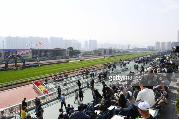 General view during Longines Hong Kong International Race Day at Sha Tin Racecourse on December 10 2017 in Hong Kong Hong Kong