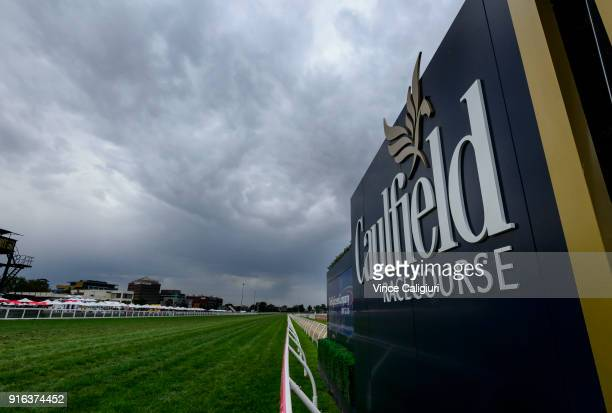 General view during Melbourne Racing at Caulfield Racecourse on February 10 2018 in Melbourne Australia