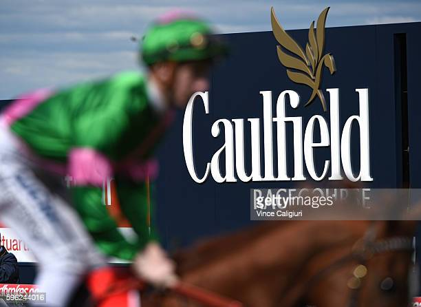 General view during Melbourne Racing at Caulfield Racecourse on August 27 2016 in Melbourne Australia