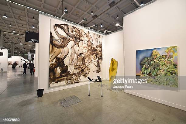 General view during 'Miart 2015' Press Preview on April 9, 2015 in Milan, Italy.