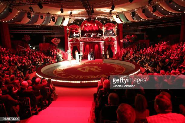 A general view during Michael Kaefer's 60th birthday celebration at Postpalast on February 2 2018 in Munich Germany