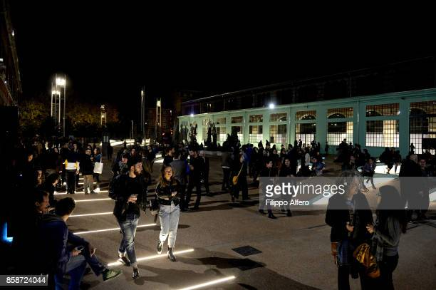 General view during OGR Big Bang event on October 7 2017 in Turin Italy