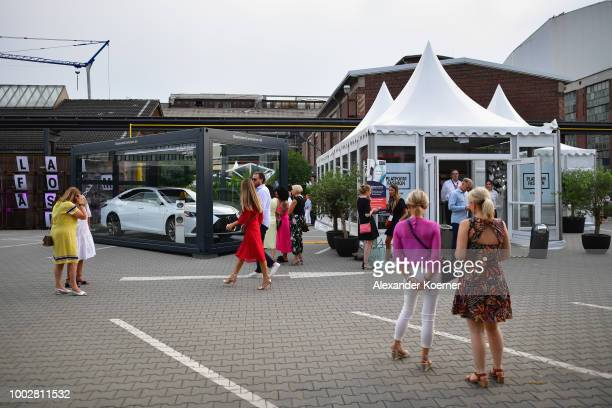 A general view during Platform Fashion July 2018 at Areal Boehler on July 20 2018 in Duesseldorf Germany