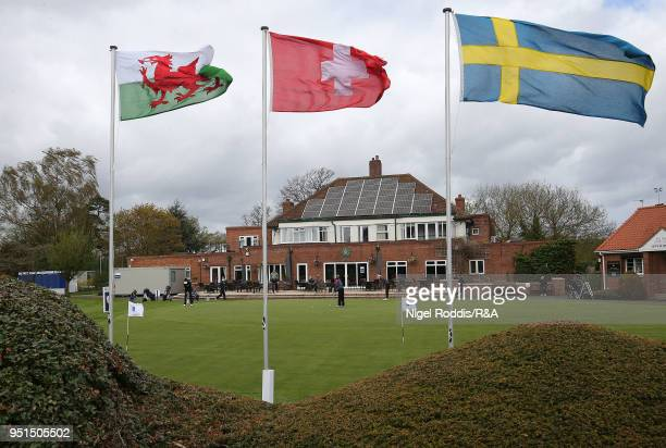 General view during practice for the Girls' U16 Open Championship at Fulford Golf Club on April 26 2018 in York England