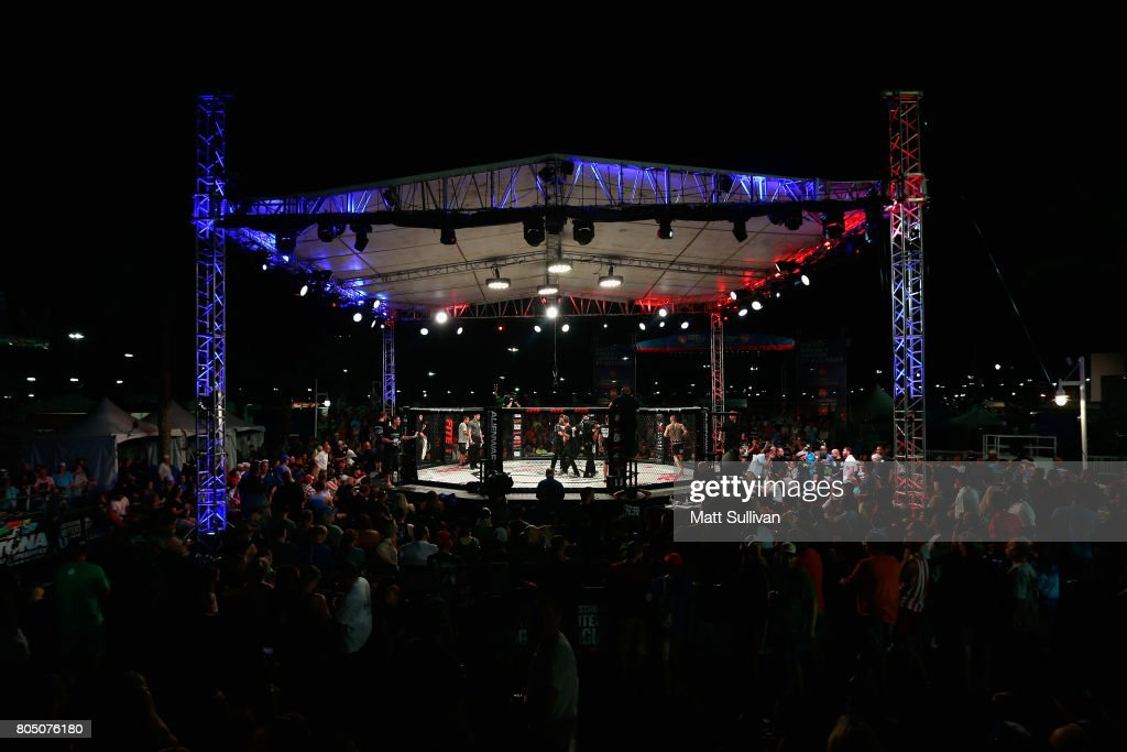 A general view during Professional Fighters League: Daytona at Daytona International Speedway on June 30, 2017 in Daytona Beach, Florida.
