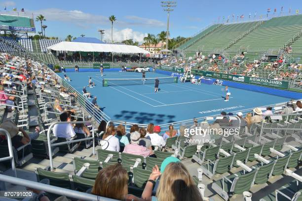 General view during Rennae Stubbs, Scott Foley, Maeve Quinlan, Luke Jensen and Chris Evert participates in the 28th Annual Chris Evert/Raymond James...