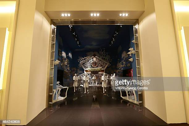 General view during Roger Dubuis at the SIHH 2014 day 2 on January 21 2014 in Geneva Switzerland