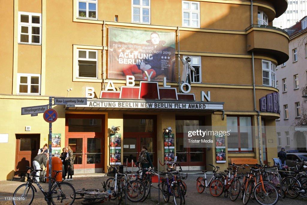 DEU: 15th Achtung Berlin - New Berlin Film Award Festival Award