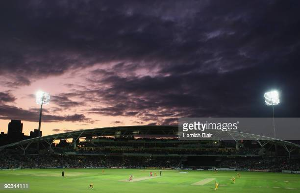 A general view during the 1st NatWest One Day International between England and Australia at The Brit Oval on September 4 2009 in London England
