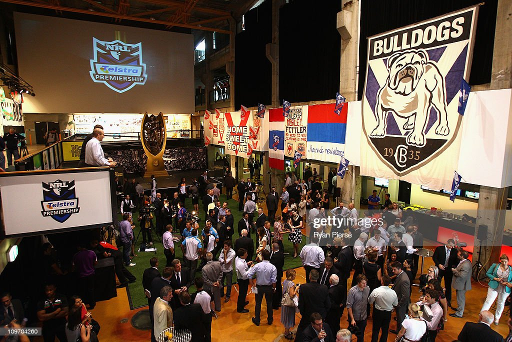 A general view during the 2011 NRL Season Launch at Casula Powerhouse Arts Centre on March 2, 2011 in Sydney, Australia.