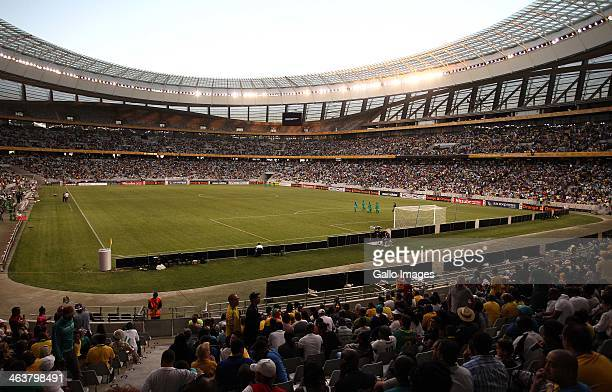 A general view during the 2014 African Nations Championship match between South Africa and Nigeria at Cape Town Stadium on January 19 2014 in Cape...