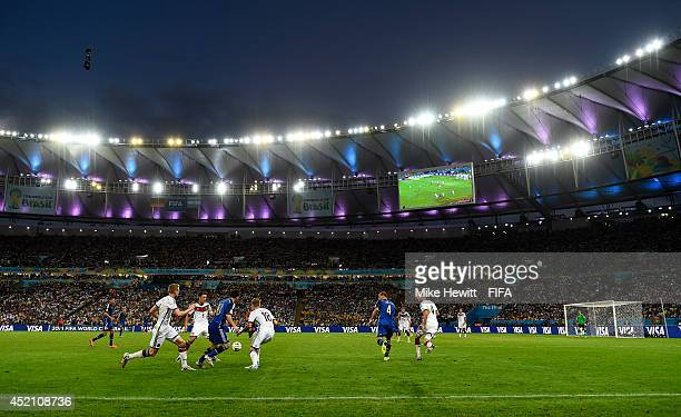 General view during the 2014 FIFA World Cup Brazil Final match between Germany and Argentina at Maracana on July 13, 2014 in Rio de Janeiro, Brazil.