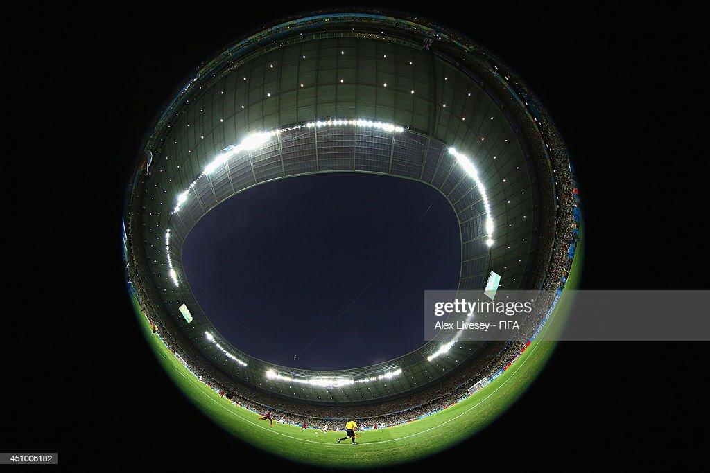 Germany v Ghana: Group G - 2014 FIFA World Cup Brazil : News Photo