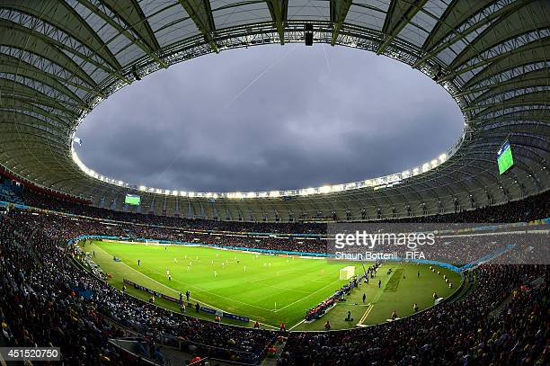 General view during the 2014 FIFA World Cup Brazil Round of 16 match between Germany and Algeria at Estadio Beira-Rio on June 30, 2014 in Porto...