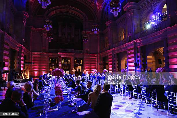 General view during the 2014 Ryder Cup Gala Dinner at Kelvingrove Art Gallery and Museum on September 24, 2014 in Glasgow, Scotland.