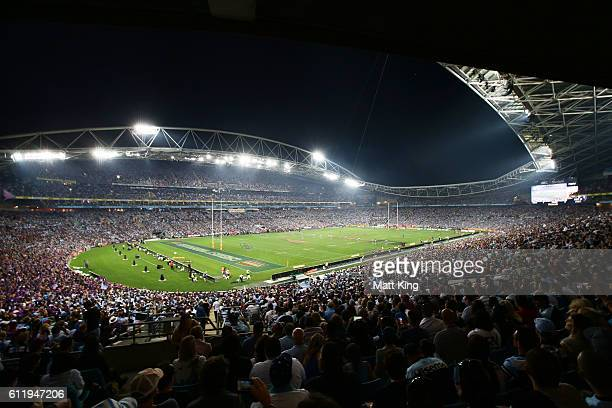 A general view during the 2016 NRL Grand Final match between the Cronulla Sharks and the Melbourne Storm at ANZ Stadium on October 2 2016 in Sydney...