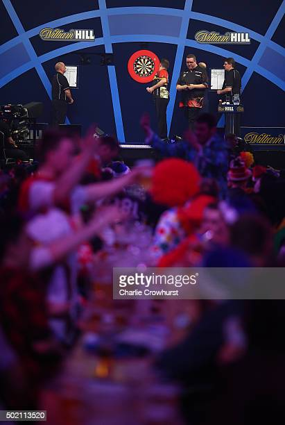 A general view during the 2016 William Hill PDC World Darts Championships on Day Four at Alexandra Palace on December 20 2015 in London England