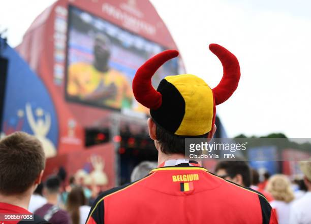 A general view during the 2018 FIFA World Cup Russia 3rd Place Playoff match between Belgium and England at on July 14 2018 in Moscow Russia