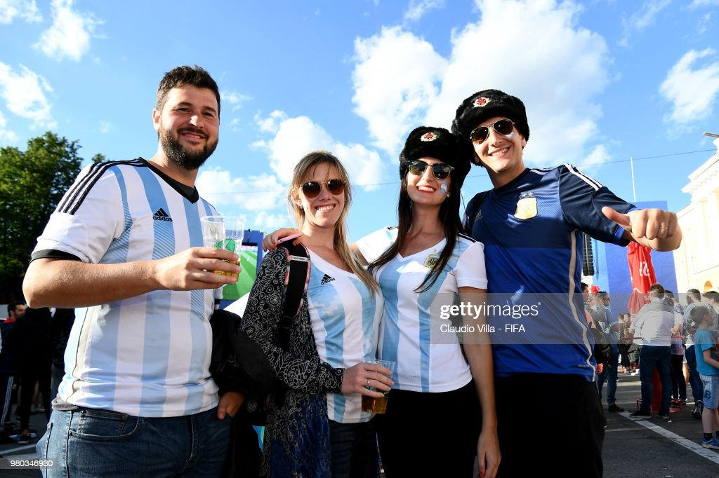 Argentina v Croatia: Group D - FIFA Fan Festival