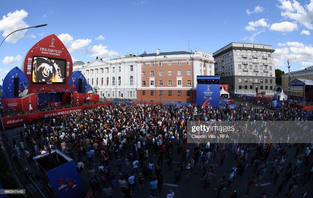 Argentina v Croatia: Group D - FIFA Fan Festival
