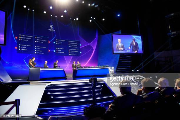 Champions League Draw 2018 2019 Stock Photos And Pictures