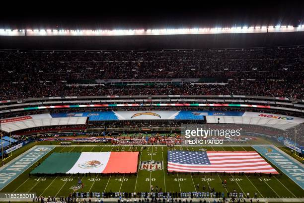 General view during the 2019 NFL week 11 regular season football game between Kansas City Chiefs and Los Angeles Chargers on November 18 at the...