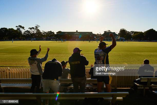 General view during the 2021 Marsh One Day Cup Final match between New South Wales and Western Australia at Bankstown Oval on April 11, 2021 in...