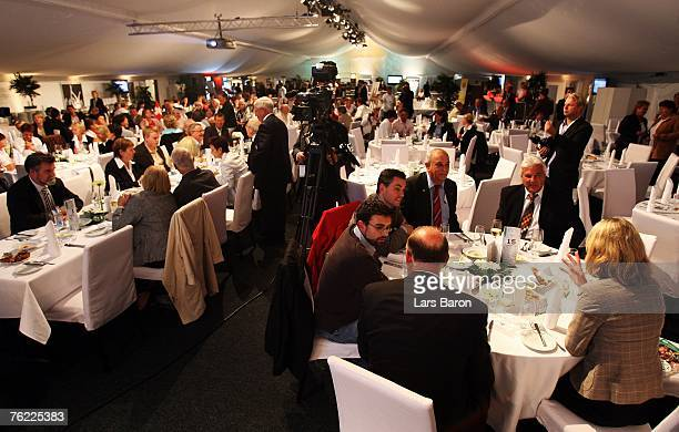 A general view during the 25th Anniversary Gala of Women's German National Team at the Oberwerth stadium on August 22 2007 in Koblenz Germany